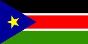Sør-Sudan flagg