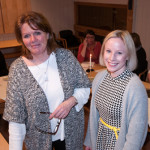 Prosjektleder Dagny Mills og ernæringsfysiolog Stine Kindølshaug